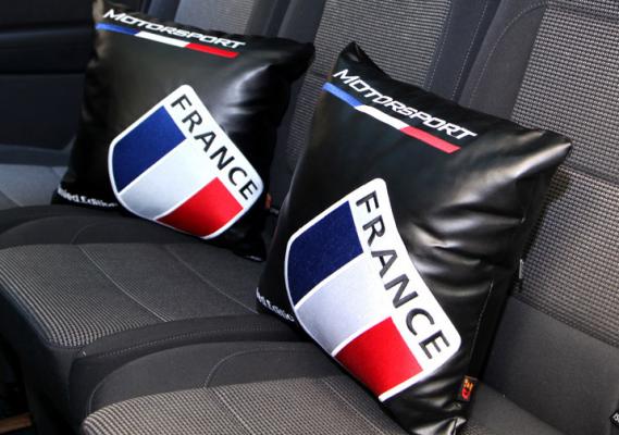 Gối tựa lưng cờ Pháp