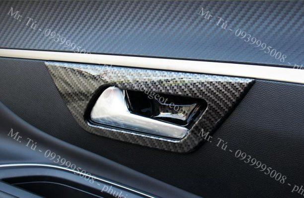 ốp carbon nội thất xe Peugeot