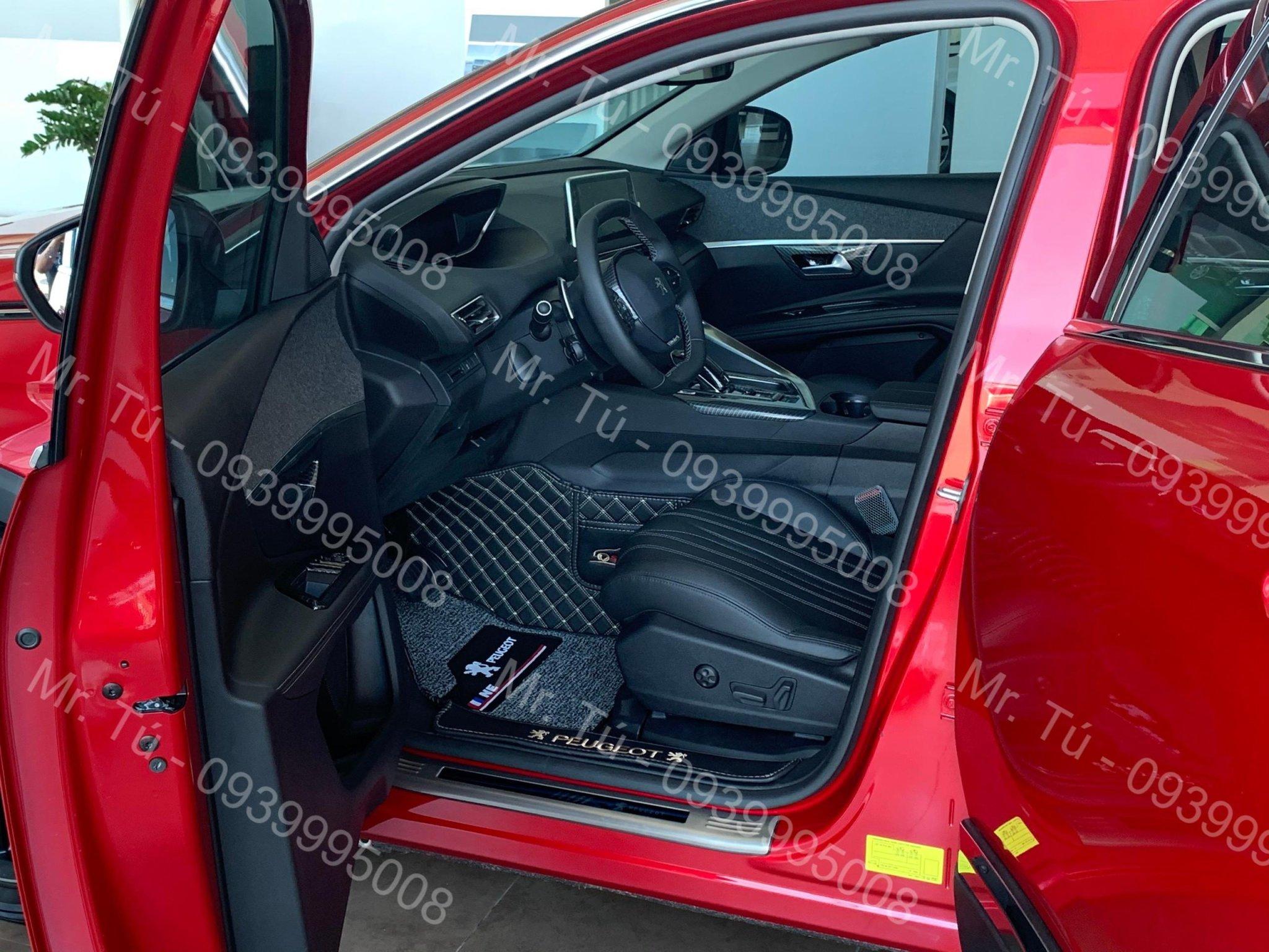 Thảm sàn 6D cao cấp xe Peugeot